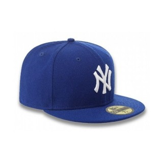 CAPPELLO FITTED NEW ERA CAP FITTED MLB NEW YORK YANKEES Royal/White stg