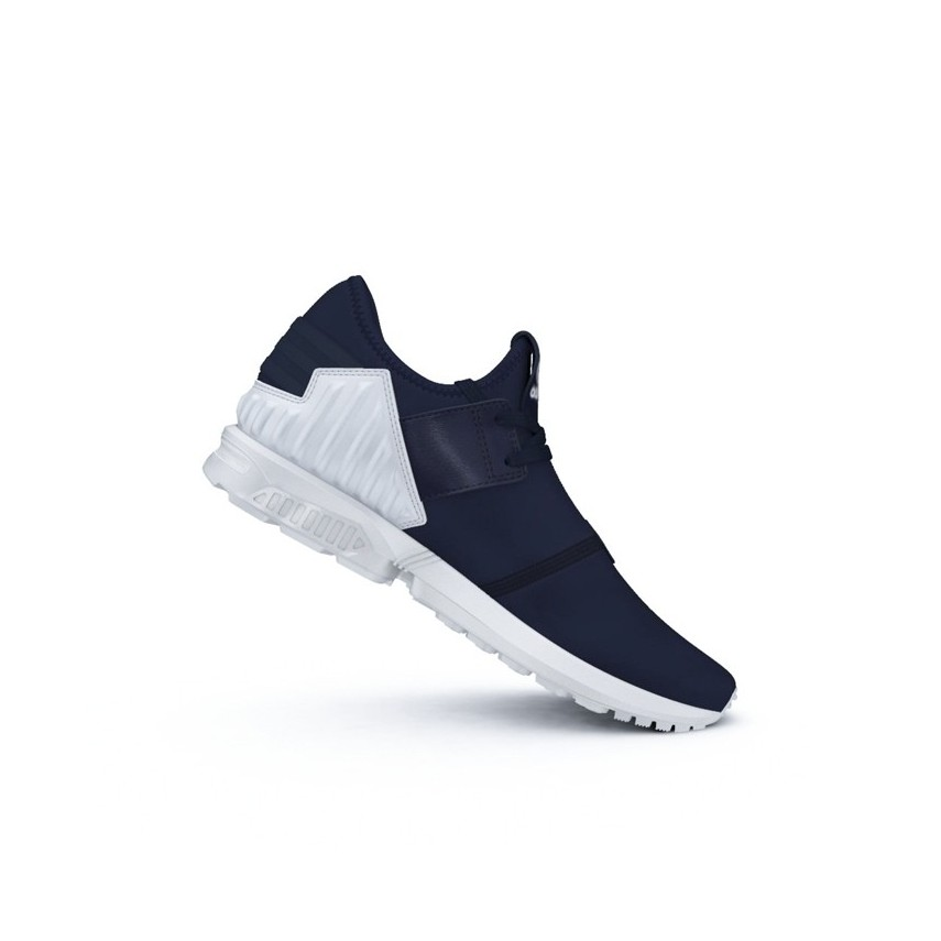 8e37263d9 SCARPA BASSA ADIDAS SHOES ZX FLUX PLUS Navy Navy White unico ...