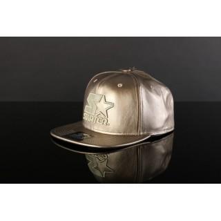 CAPPELLO SNAPBACK STARTER CAP SNAPBACK BLACKOUT Gold stg
