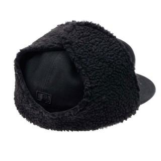 CAPPELLO FITTED NEW ERA CAP FITTED DOGEAR MLB NEW YORK YANKEES BASIC Black On Black stg