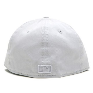 CAPPELLO FITTED NEW ERA CAP FITTED MLB NEW YORK YANKEES White On White stg