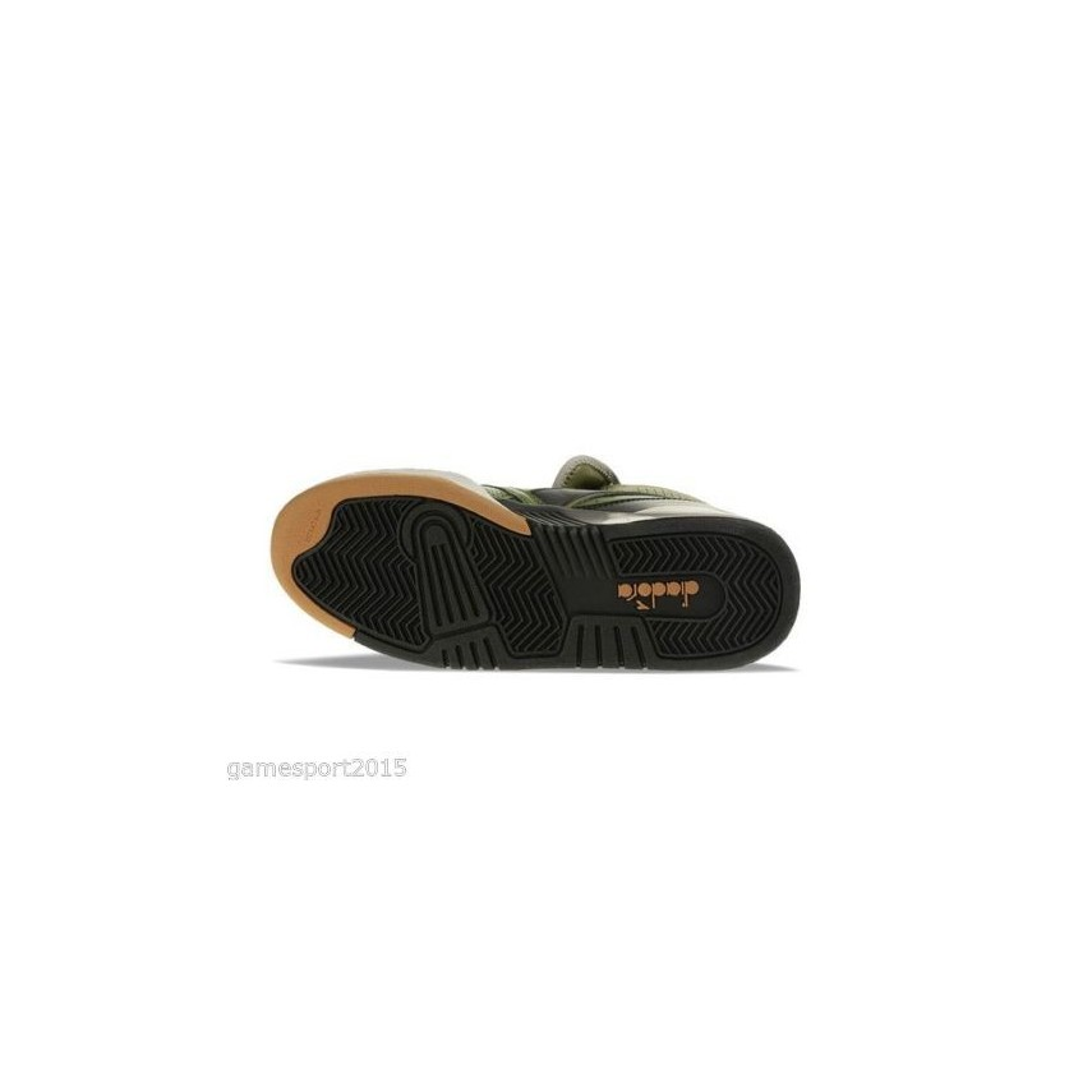 Diadora SCARPA ALTA DIADORA SHOES B5000 Olive Branch unico Snea