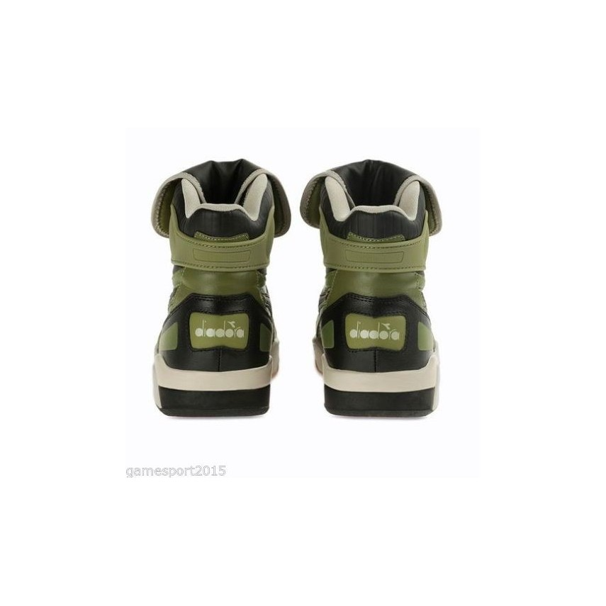 SCARPA ALTA DIADORA SHOES B5000 Olive Branch unico