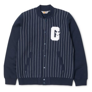 GIUBBOTTO CARHARTT JACKET MAJOR Navy/White stg