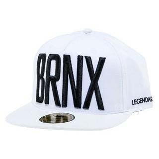 CAPPELLO SNAPBACK LEGENDARY CAP SNAPBACK BRNX NYC White/Black stg