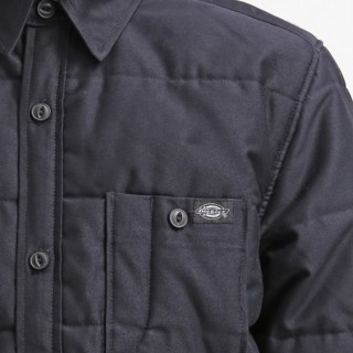 GIUBBOTTO DICKIES SHIRT JACKET QUILTED L/S GREENDALE Dark Navy stg