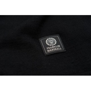 MAGLIONE FRANKLIN  MARSHALL SWEATERS WOOL Black/White