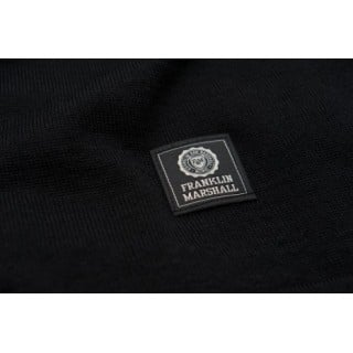 MAGLIONE FRANKLIN  MARSHALL SWEATERS WOOL Black/White stg