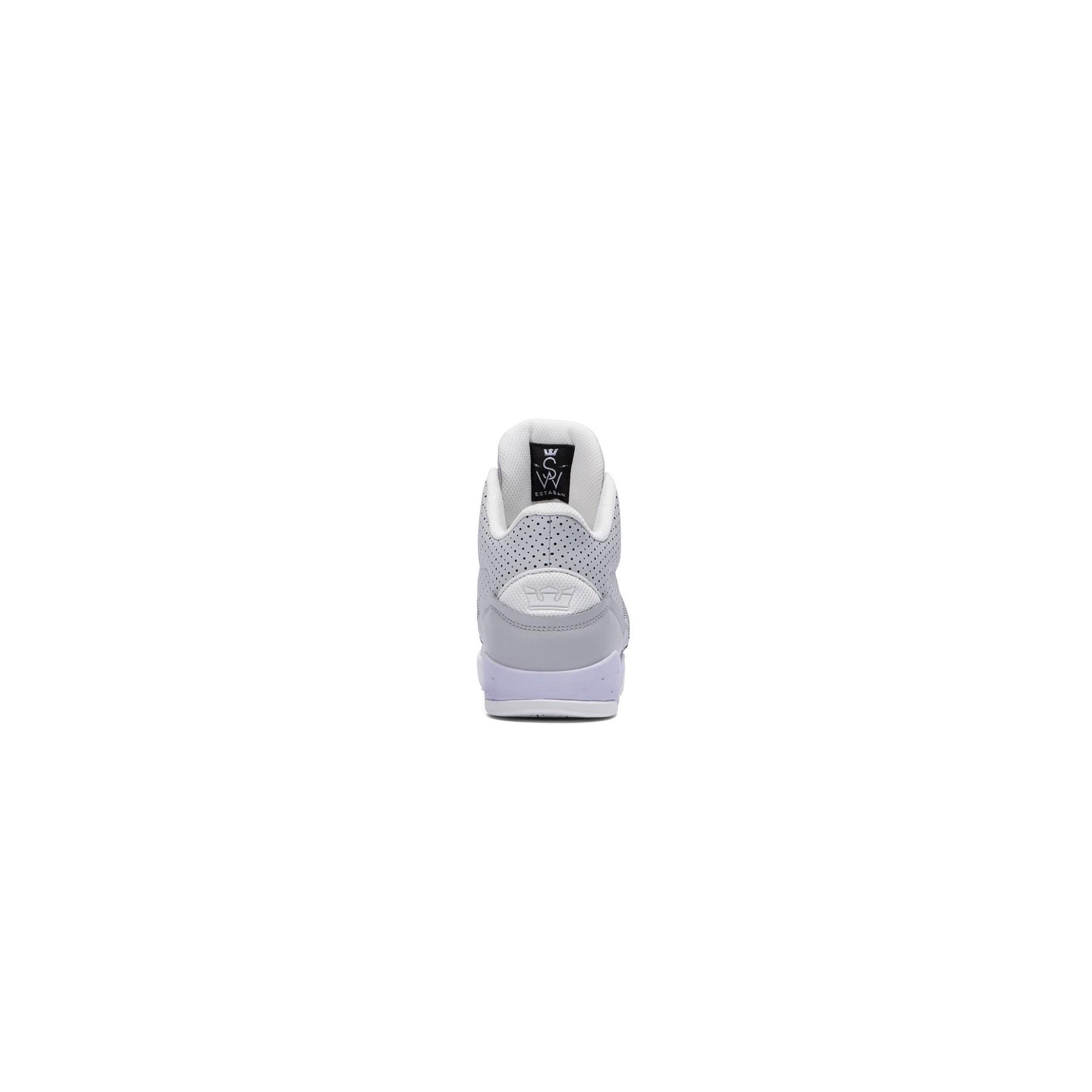 Scarpa Alta Supra Shoes Estaban Lightgrey Offwhite Unico