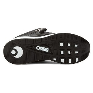 SCARPA BASSA OSIRIS SHOES D3R1 Black/White/Silver