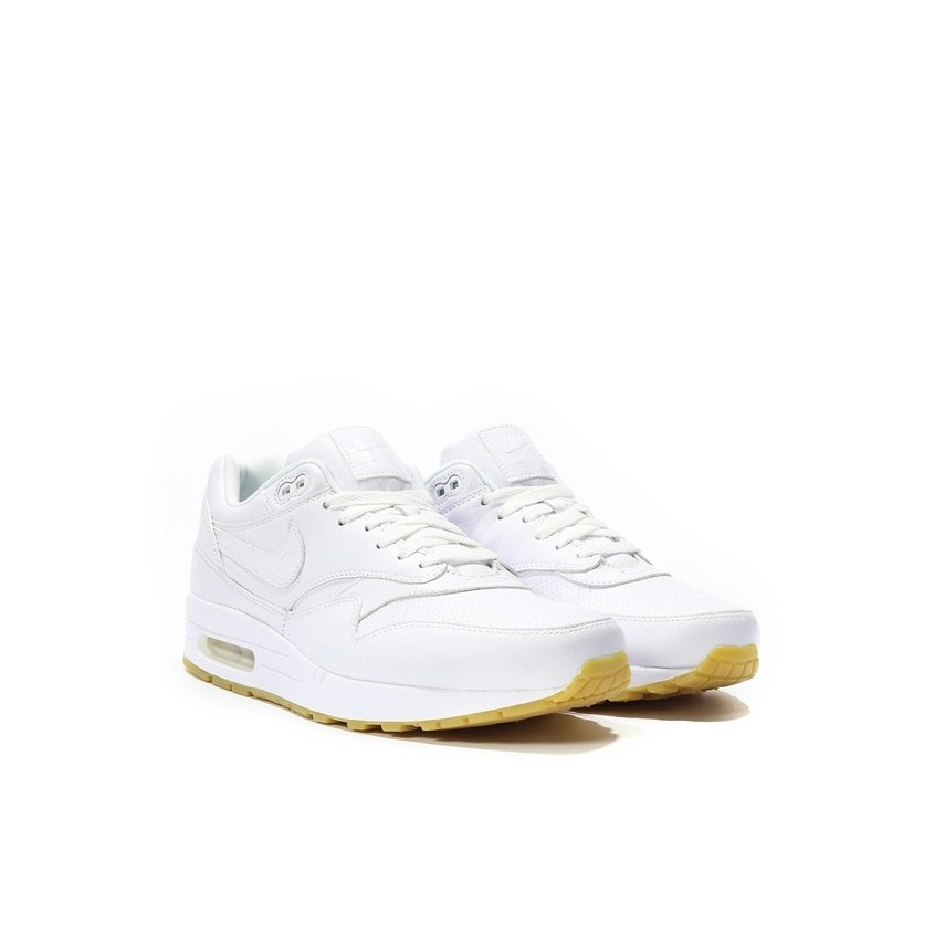 quality design b8152 33094 ... norway scarpa bassa nike shoes air max 1 leather pa white white gum  light brown 52271