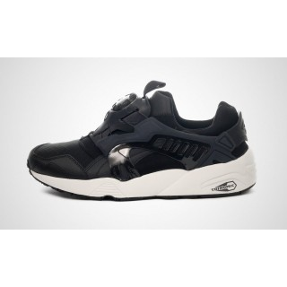 SCARPA BASSA PUMA SHOES DISC BLAZE Black/Black/White stg
