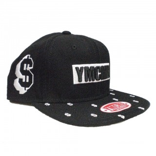 CAPPELLO SNAPBACK YMCMB CAP SNAPBACK DOLLA SIGN Black/White