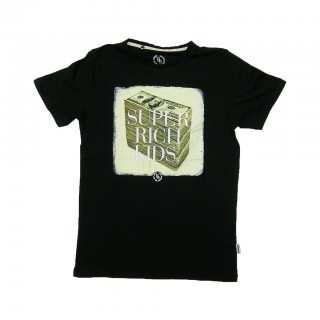 MAGLIETTA BOOM BAP T-SHIRT R-NECK SUPPA Black stg