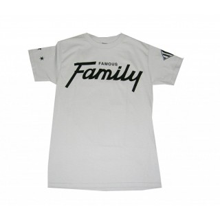 MAGLIETTA FAMOUS T-SHIRT PRO GAME FAMILY Silver/Black