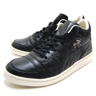 SCARPA BASSA PUMA SHOES BECKER LEATHER Black stg