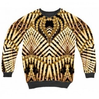 FELPA GIROCOLLO MUTI SWEATSHIRT CREWNECK CARTUCCERA All Over