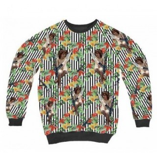 FELPA GIROCOLLO MUTI SWEATSHIRT CREWNECK NEW ANGELI All Over