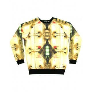 FELPA GIROCOLLO MUTI SWEATSHIRT CREWNECK GEISHA LEGNO All Over