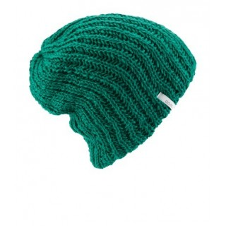 BERRETTO LANA COAL BEANIE THE THRIFT KNIT Emerald stg