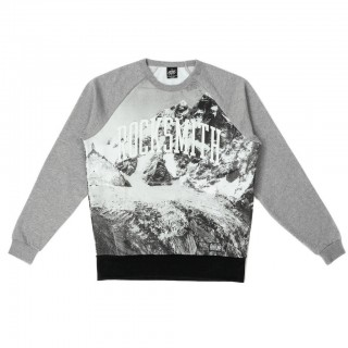 FELPA GIROCOLLO ROCKSMITH SWEATSHIRT CREWNECK EVEREST Grey/Black