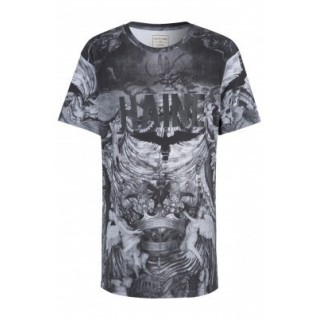 MAGLIETTA ELEVEN PARIS T-SHIRT HAINE GREY All Over