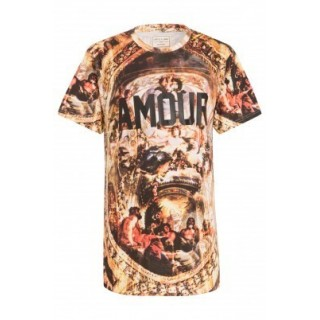 MAGLIETTA ELEVEN PARIS T-SHIRT AMOUR All Over