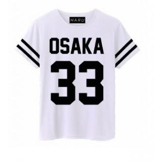 MAGLIETTA HARU T-SHIRT OSAKA 33 White stg