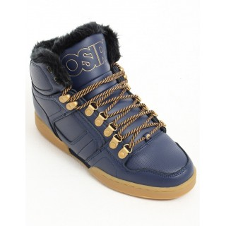 SCARPA ALTA OSIRIS SHOES NYC 83 SHR Navy/Gold/Gum stg