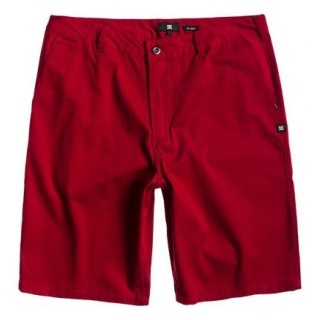 PANTALONE CORTO DC SHOES SHORT WORKER Red stg
