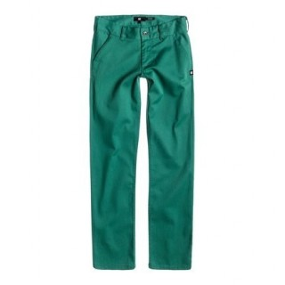 PANTALONE LUNGO DC SHOES PANT WORKER STRAIGHT FIT Green stg