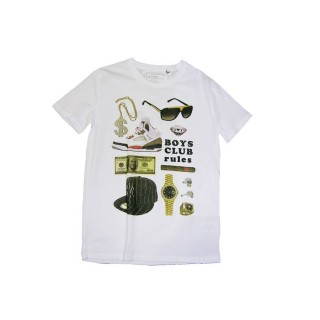 MAGLIETTA IMPURE T-SHIRT BOYS CLUB White stg