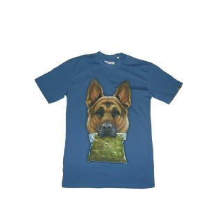 MAGLIETTA UPPER PLAYGROUND T-SHIRT NARCO DOG Navy stg