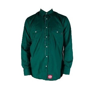 CAMICIA LOBSTER SHIRT L/S DENVER Green/Flowers stg