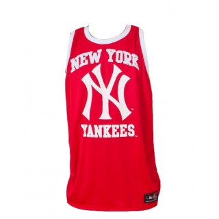 CANOTTA MAJESTIC TANK TOP MLB NEW YORK YANKEES FINCHE Red stg