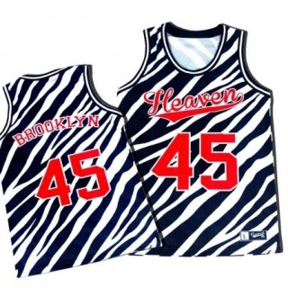 CANOTTA HEAVEN 45 TANK TOP BROOKLYN ZEBRA stg