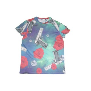 MAGLIETTA IMPURE T-SHIRT GALAXY All Over stg