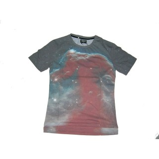 MAGLIETTA BROOKLYN HAZE T-SHIRT GALAXY MILKY WAY All Over stg