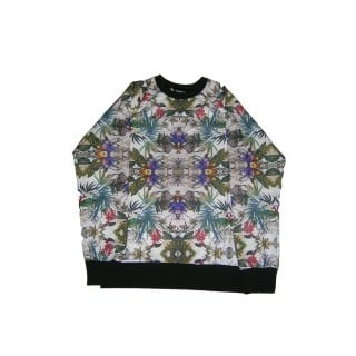 FELPA GIROCOLLO BROOKLYN HAZE SWEATSHIRT CREWNECK FLORA All Over