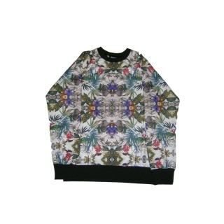FELPA GIROCOLLO BROOKLYN HAZE SWEATSHIRT CREWNECK FLORA All Over stg