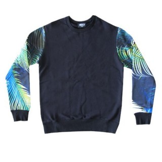 FELPA GIROCOLLO BROOKLYN HAZE SWEATSHIRT CREWNECK PLUMAGE Black stg
