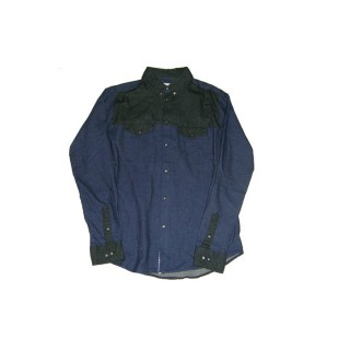 CAMICIA HUMOR SHIRT L/S COLLIN Dress Blues stg