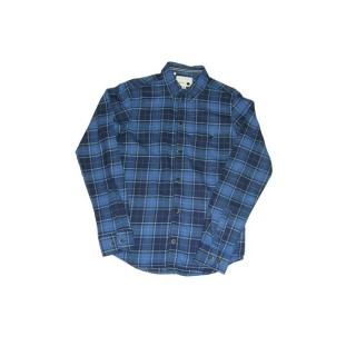 CAMICIA HUMOR SHIRT L/S DREY Check Blue Yellow stg