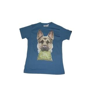 MAGLIETTA UPPER PLAYGROUND T-SHIRT NARCO DOG State Blue