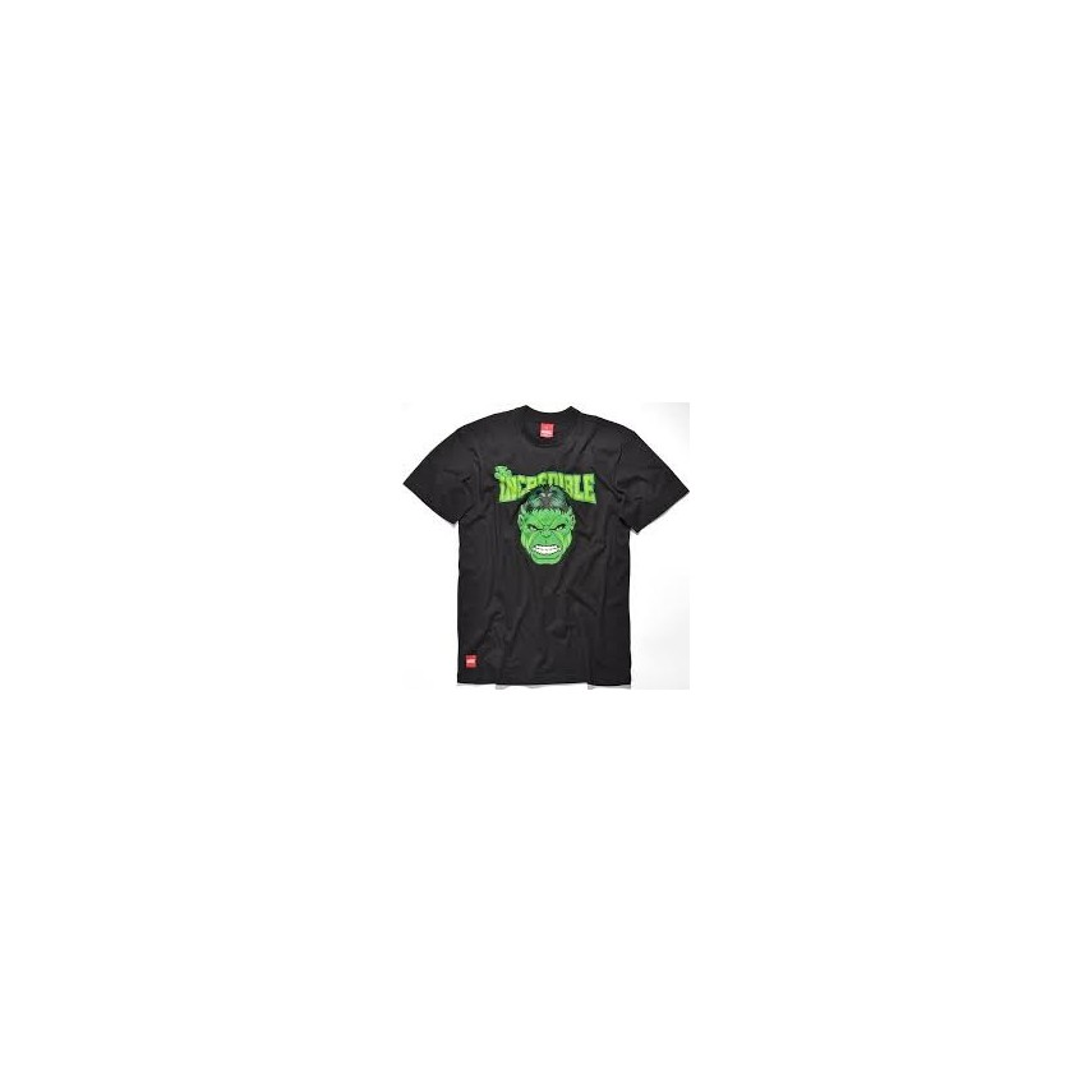 Hulk Unico Marvel Incredible Addict College Black Shirt Maglietta T IWD9Y2EH