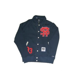 FELPA GIROCOLLO ROCKSMITH SWEATSHIRT VARSITY NINJA LEAGUE Navy