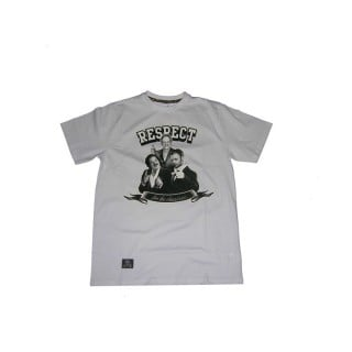 MAGLIETTA BACKYARD CARTEL T-SHIRT RESPECT White