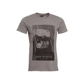 MAGLIETTA SPACE MONKEYS T-SHIRT RIDE Grey