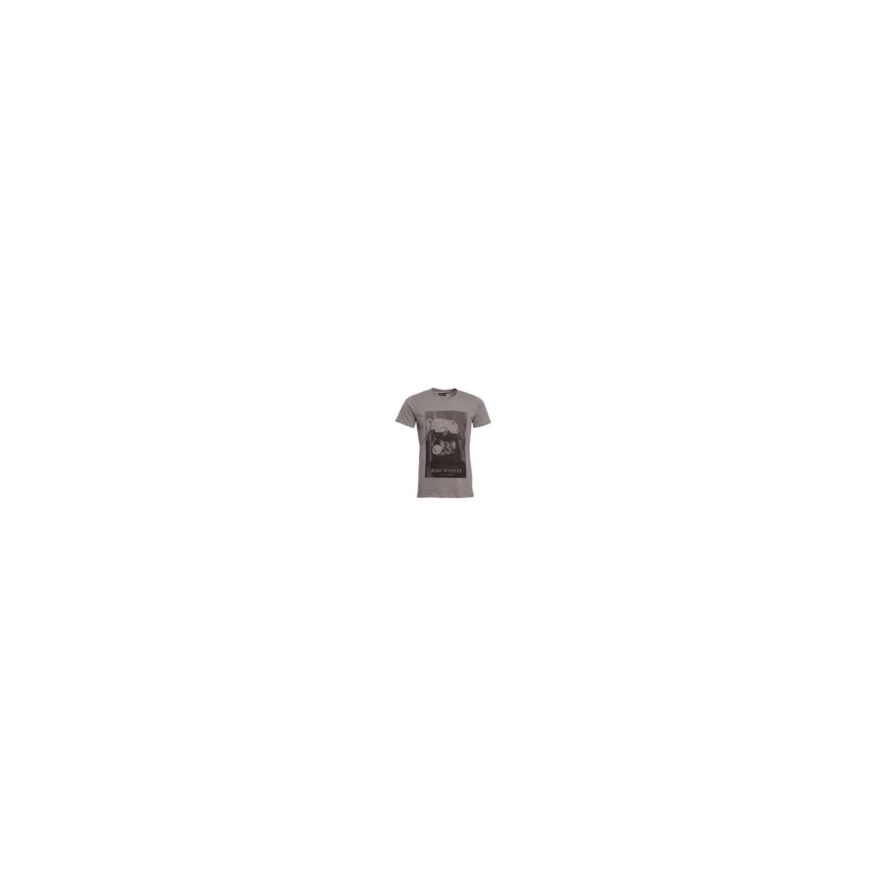MAGLIETTA SPACE MONKEYS T-SHIRT RIDE Grey