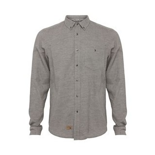CAMICIA HUMOR SHIRT L/S MANITOBA Grey/Animal stg